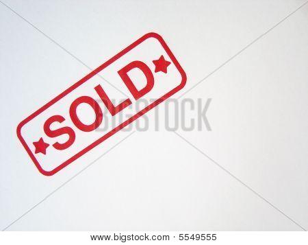 Sold Stamp Impression
