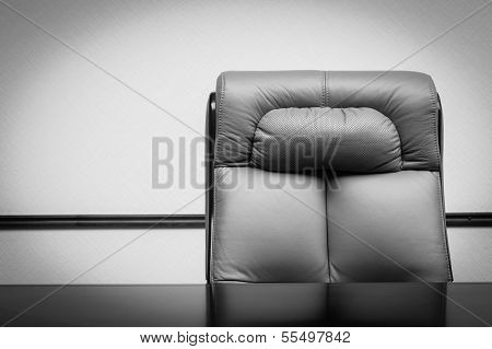 Leather Chair And Desk