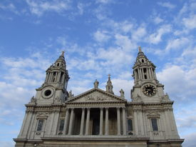 St Paul's Cathedral And Blue Sky