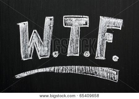 WTF on a Blackboard