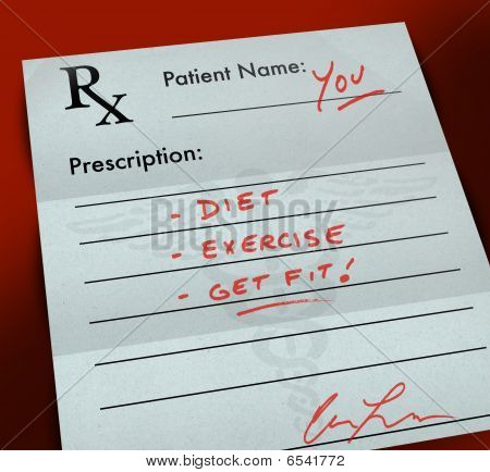 Prescription Form - Get Fit