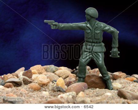Portrait Of A Green Army Man 02
