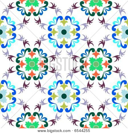 Seamless Floral Pattern 4