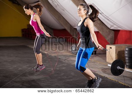 Workout With A Jump Rope