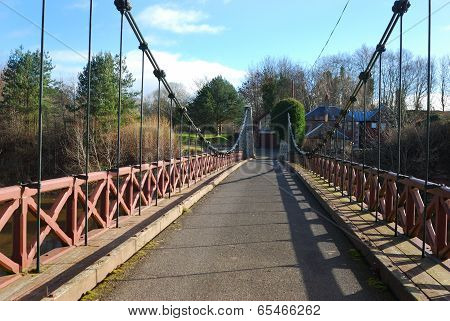 Kalemouth Suspension Bridge