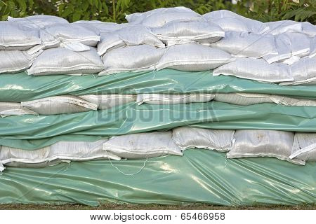 Wall Of Sandbags