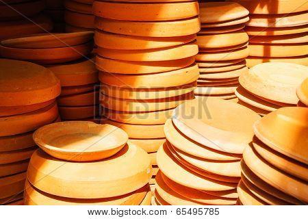 Terra-cotta Flower Pot Saucers