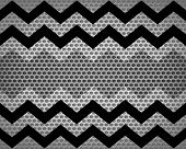 Seamless Chevron Zigzag Pattern - Background or Texture poster