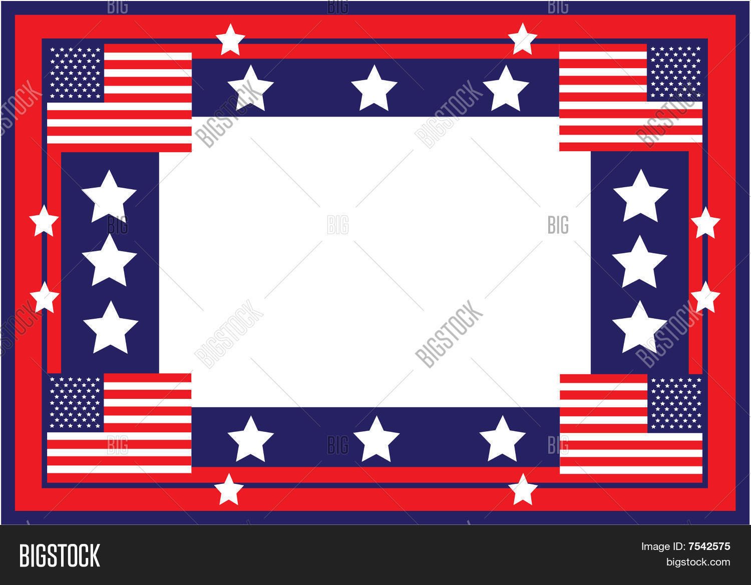 American Flag Frame Image & Photo (Free Trial) | Bigstock
