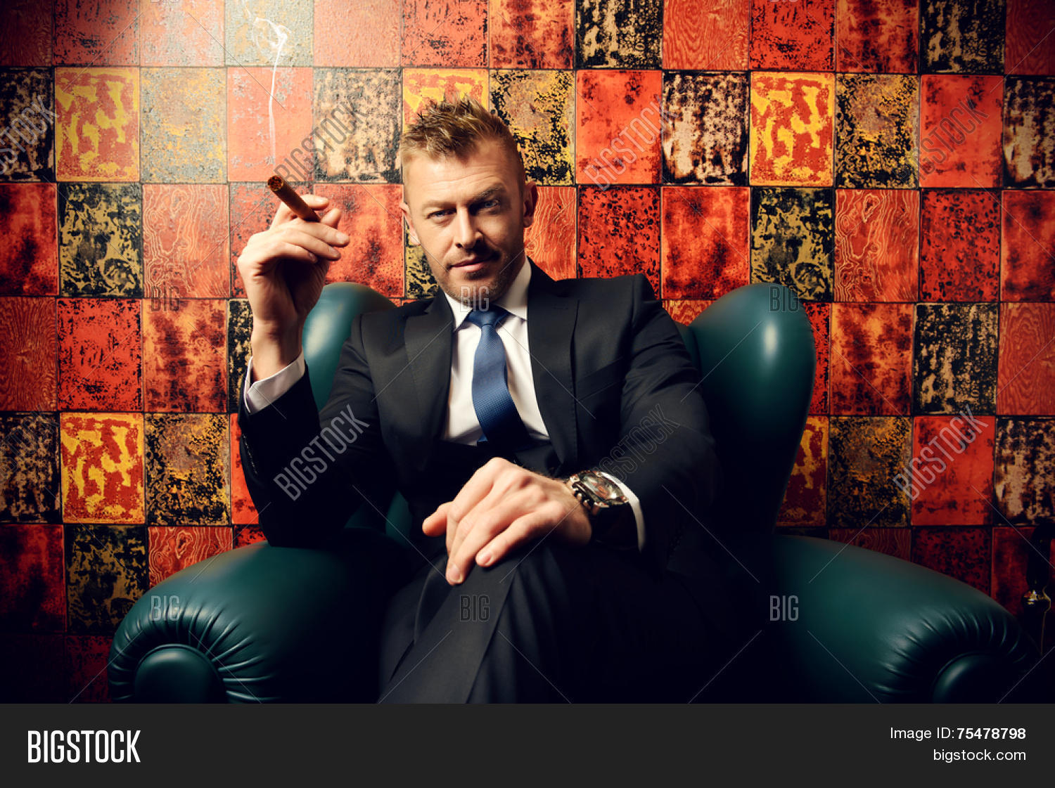 handsome mature man elegant suit image & photo | bigstock