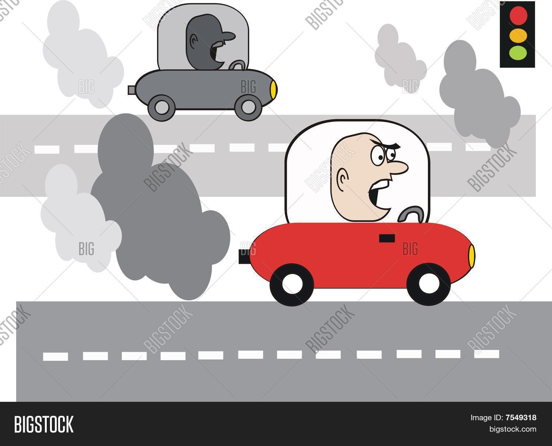 Car pollution cartoon vector photo bigstock car pollution cartoon sciox Gallery