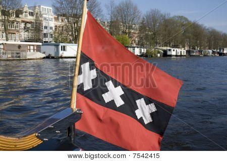 Flag Of Amsterdam