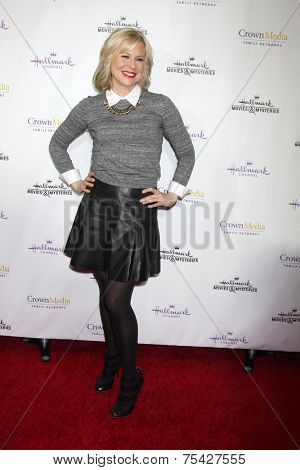 LOS ANGELES - NOV 4:  Kristin Booth at the Hallmark Channel's