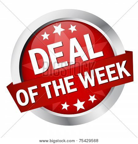 "Button With Banner "" Deal Of The Week "" poster"