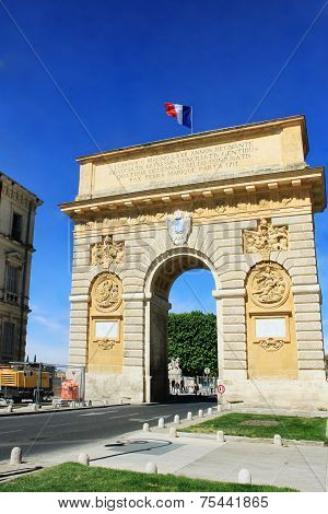 Triumphal Arch Of Montpellier
