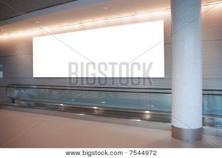 Billboard On Modern Architecture