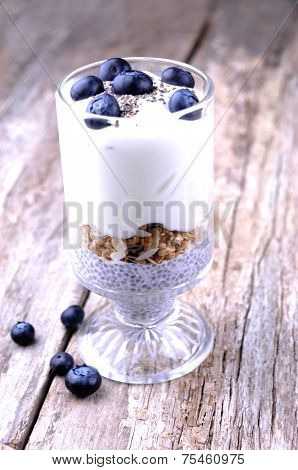Healthy Chia Seed Breakfast