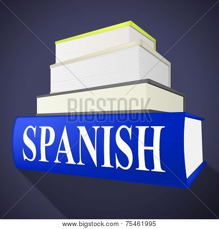Books Spanish Means Translate To English And Dialect
