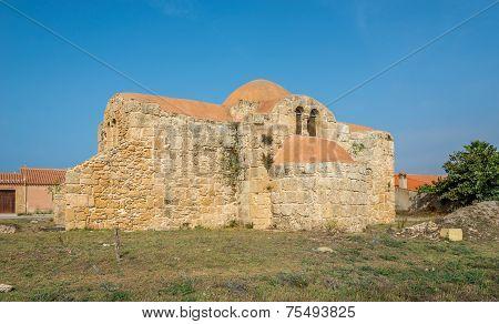Church San Giovanni Di Sinis In Cabras