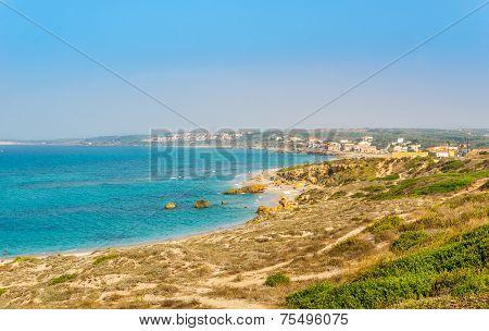 Wonderful Beaches Near Tharros At Sinis Peninsula
