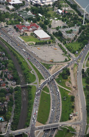 Aerial View Of The Expressway