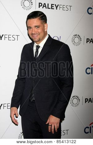 LOS ANGELES - MAR 13:  Mark Salling at the PaleyFEST LA 2015 -