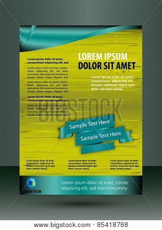 Leaflet template design