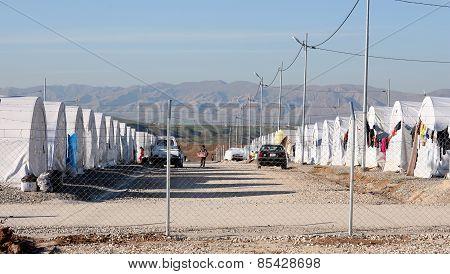 Shariya IDP camp