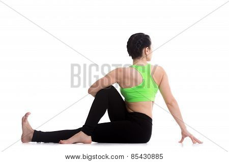 Yoga Pose For Spine, Hips And Shoulders