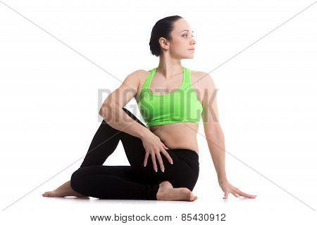 Yoga Asana Ardha Matsyendrasana