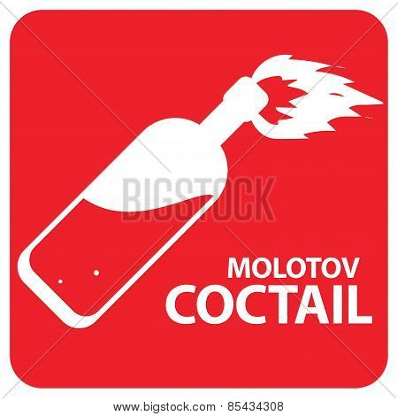 Molotov Cocktail Symbol