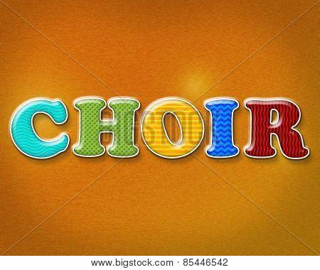 Colorful Choir Theme