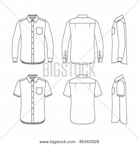 Men's Clothing Set.