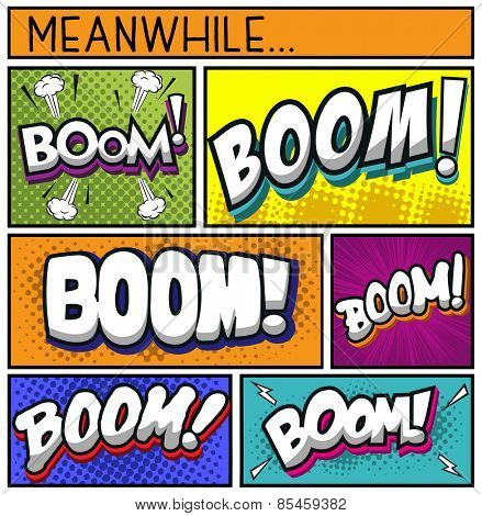 Comic Book Collection-BOOM
