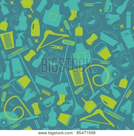 Clean seamless pattern.