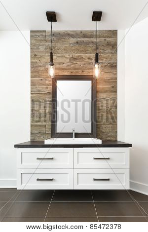 Bathroom Contemporary Cabinet