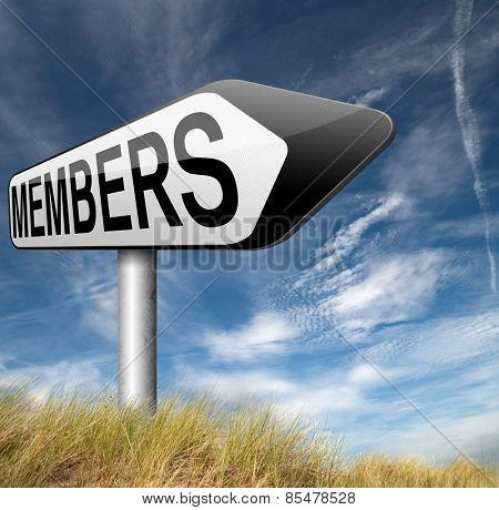 members only access password protected membership required register now restricted area poster