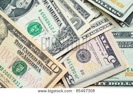 United States Dollars - Money background