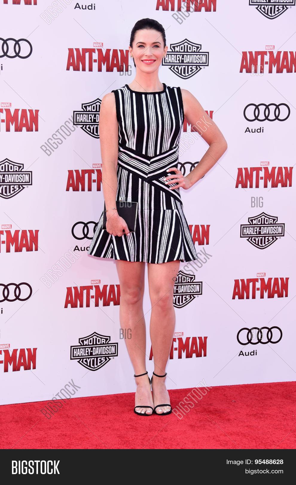 Los Angeles Jun 29 Bridget Regan Arrives To The Ant Man