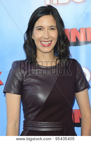 LOS ANGELES - JUN 8: Cass Bugge at the Premiere of HBO's 'The Brink' at the Paramount Theater at Paramount Studios on June 8, 2015 in Los Angeles, CA