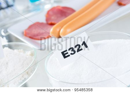 Preservatives substances that are added to products such as foods, pharmaceuticals, paints, to prevent decomposition by microbial growth or by undesirable chemical changes