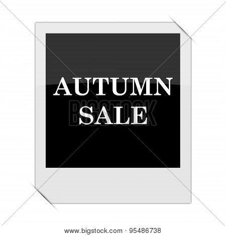Autumn Sale Icon