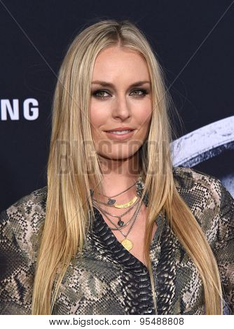 LOS ANGELES - JUN 09:  Lindsey Vonn arrives to the