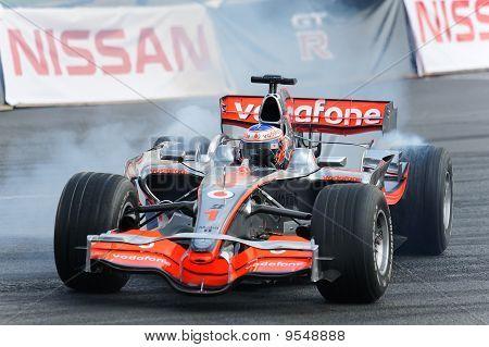 racing formula-1 bolide Mclaren Mercedes teams