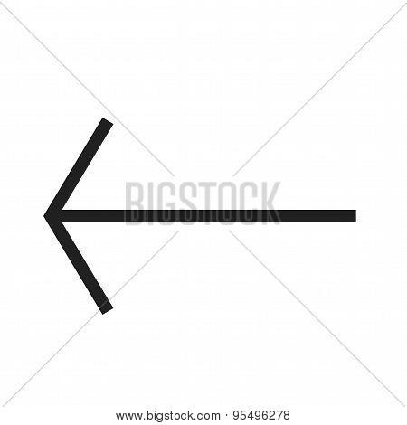 Back arrow