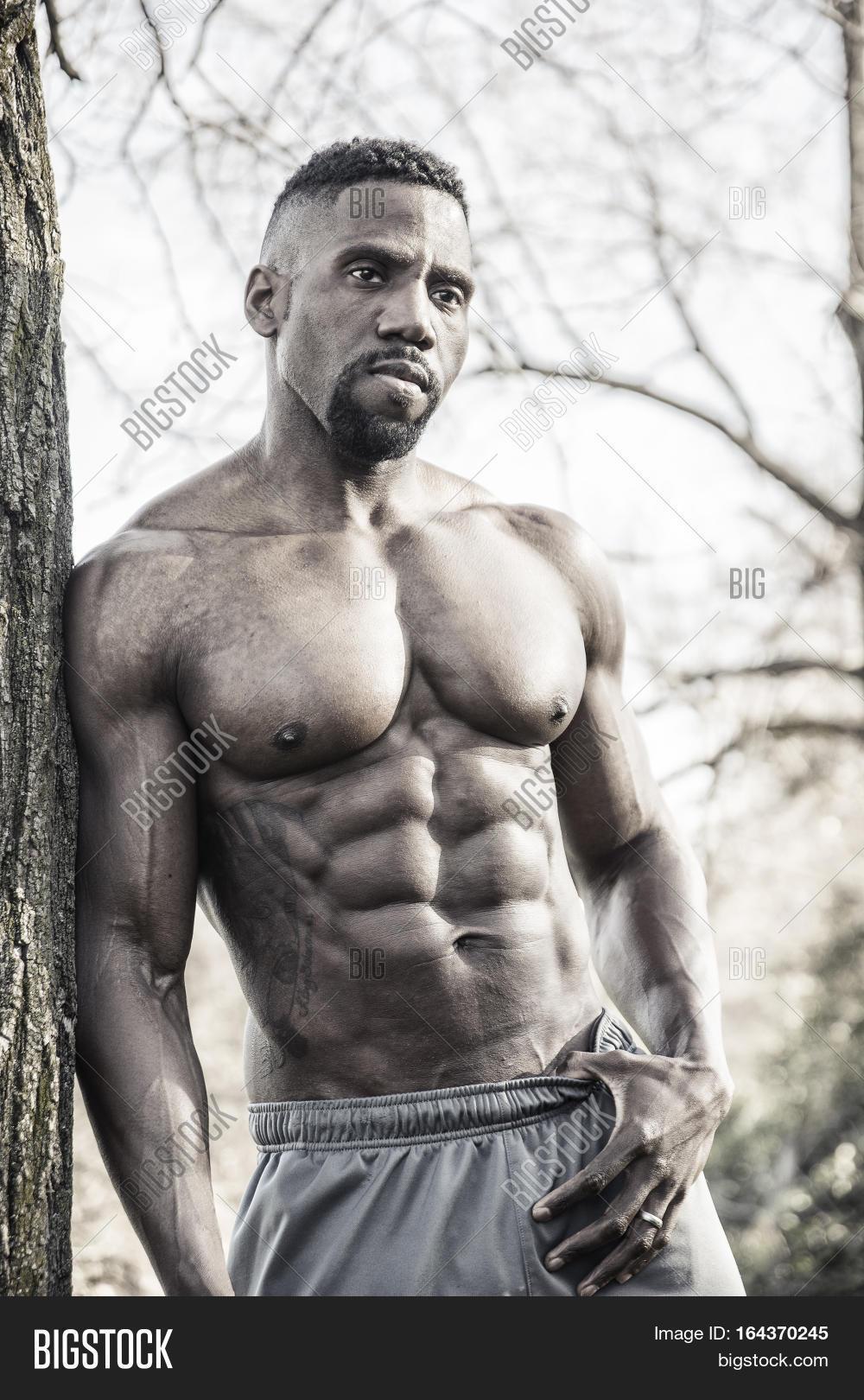 Muscular Shirtless Image Photo Free Trial Bigstock