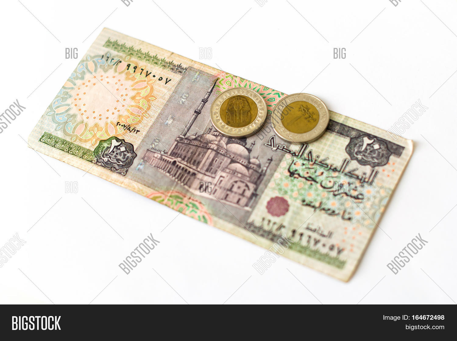 20 Egyptian Pounds Old Image Photo Free Trial Bigstock