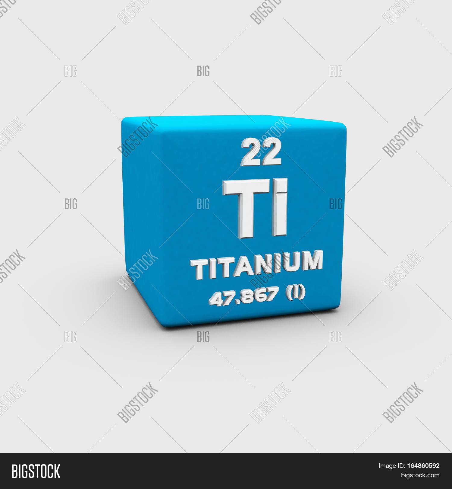 Titanium Chemical Image Photo Free Trial Bigstock