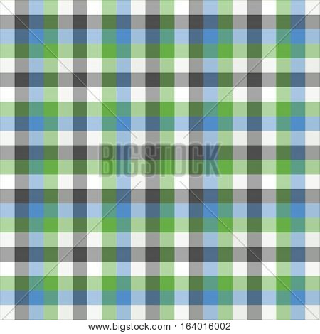 The greenish pattern made with checked design