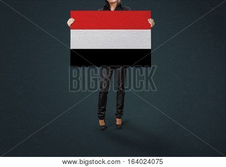 Yemen State, Yemen Flag Design and Presentation
